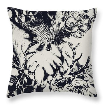 Halls Of Horned Art Throw Pillow
