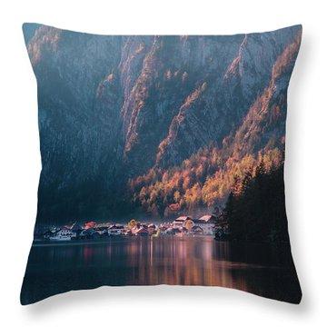 Hallstatt Fall Throw Pillow