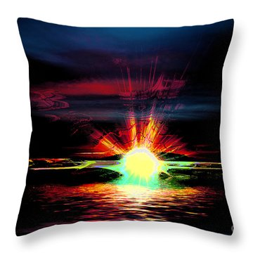 Hallucination Throw Pillow