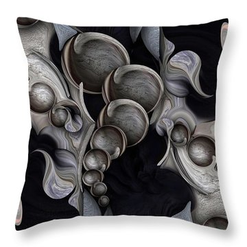 Hallucinogenic Altarpiece Decomposed Throw Pillow