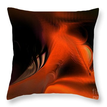 Hallucinogenic Element Throw Pillow