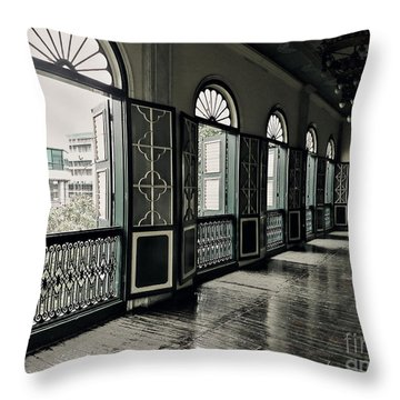Hallway Throw Pillow by Charuhas Images