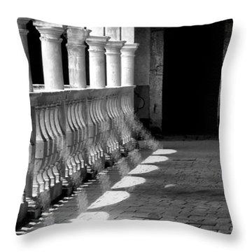 Hallway Patterns Throw Pillow