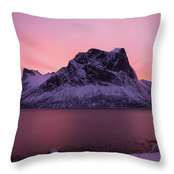 Halo In Pink Throw Pillow