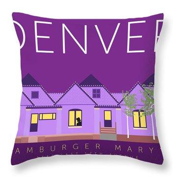 Hamburger Mary's Throw Pillow