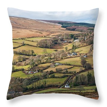 Hamel Down From Honeybag Tor Throw Pillow