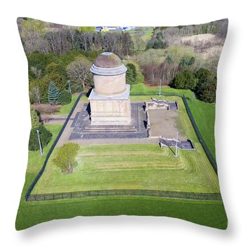 Hamilton's Knob 2 Throw Pillow by Steev Stamford