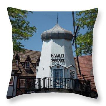 Hamlet Square Throw Pillow