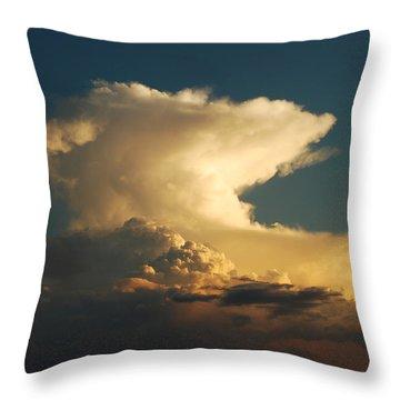 Hammerhead Cloud Throw Pillow