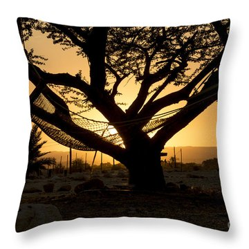 Vacation Throw Pillow by Arik Baltinester