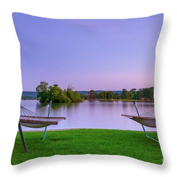 Hammock Life Throw Pillow