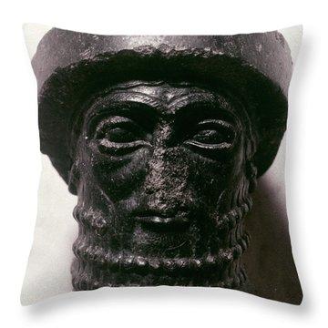 Hammurabi (d. 1750 B.c.) Throw Pillow by Granger