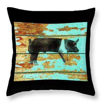Hampshire Boar 1 Throw Pillow