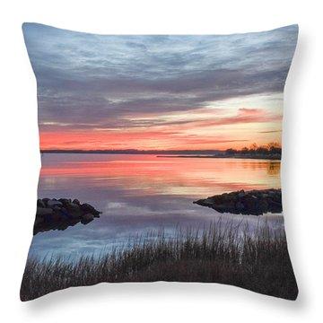 Hampton Sunrise Throw Pillow