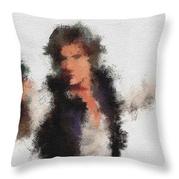Han Solo Throw Pillow
