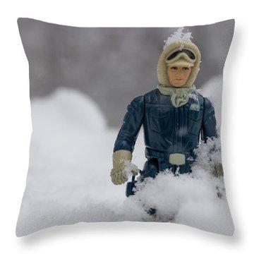 Han Solo Snowbound Throw Pillow