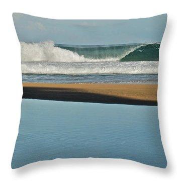 Hanakapiai Beach 1287b Throw Pillow