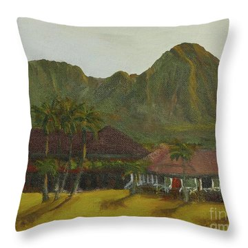 Hanalei Throw Pillow