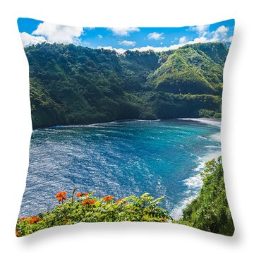 Hanalicious Throw Pillow