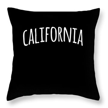 Hand California Throw Pillow