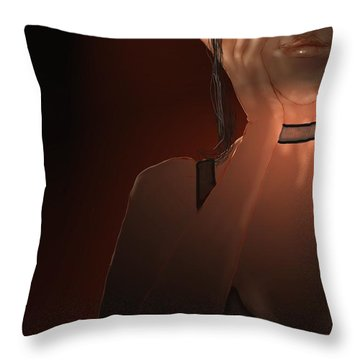 Hand Throw Pillow