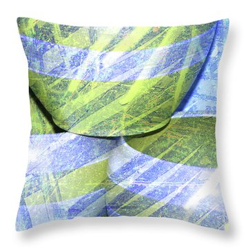 Handcrafted Throw Pillow by Susanne Van Hulst
