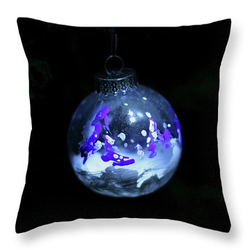 Handpainted Ornament 001 Throw Pillow