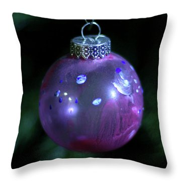 Handpainted Ornament 002 Throw Pillow