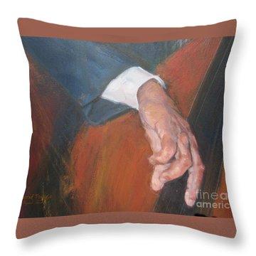 Blaa Kattproduksjoner          Hands Of Deep Sound Throw Pillow
