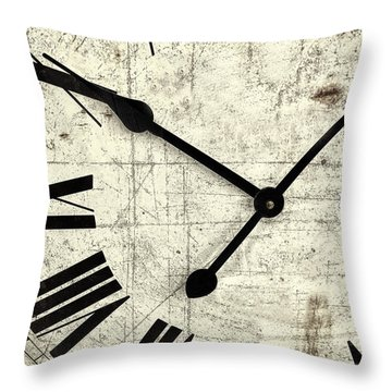 Hands Of Time Throw Pillow