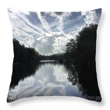 Handsome Cloud Throw Pillow