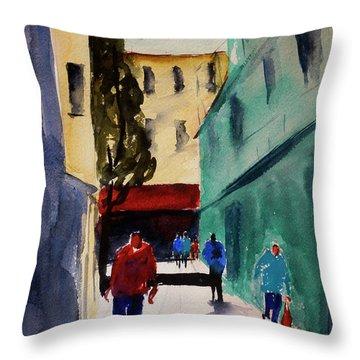Hang Ah Alley1 Throw Pillow