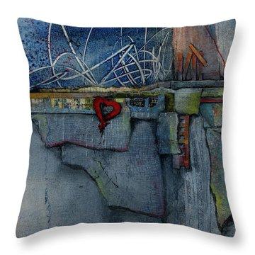 Hang On, Love  Throw Pillow