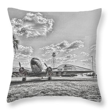 Hanger Hotel Throw Pillow