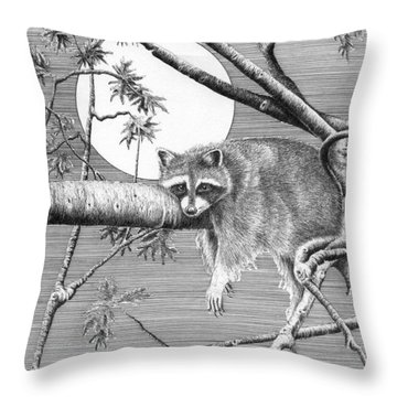 Hangin' Around Throw Pillow