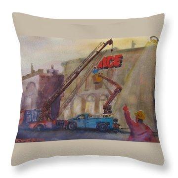 Hanging Ace #1 Throw Pillow