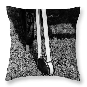 Hanging Canteen Throw Pillow