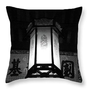Hanging Lantern Hue Vietnam Throw Pillow