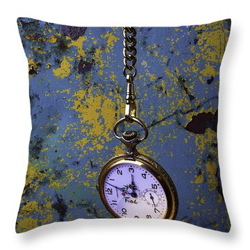 Hanging Watch Throw Pillow