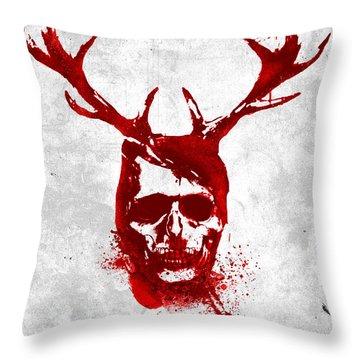 Hannibal Tv Show Poster Throw Pillow