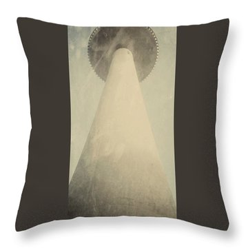Volkswagen Tower In Hanover Germany Throw Pillow