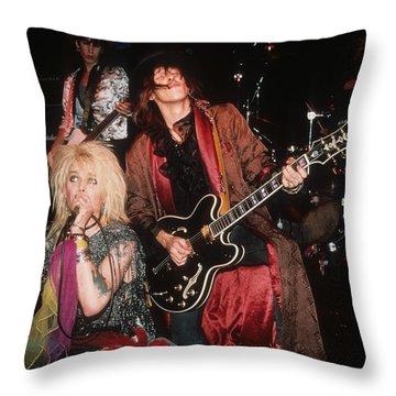 Hanoi Rocks Throw Pillow