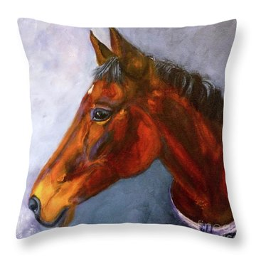 Hanoverian Bay Throw Pillow