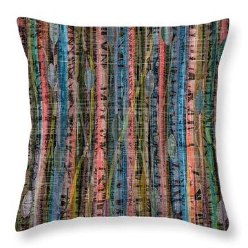 Hansel Und Gretel Forst Throw Pillow by Stan  Magnan