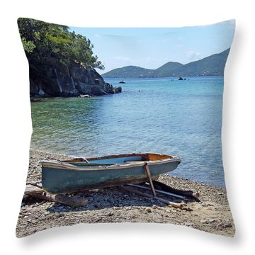 Hansen Bay 2 Throw Pillow