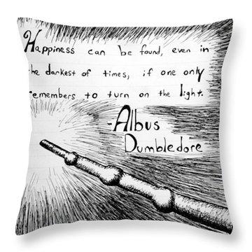 Potter Throw Pillows