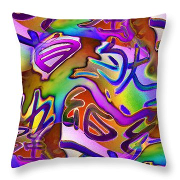 Pattern 282 _ Happiness Throw Pillow