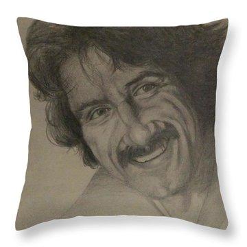 Happy Throw Pillow by Annemeet Hasidi- van der Leij