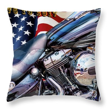 Happy Birthday America Throw Pillow