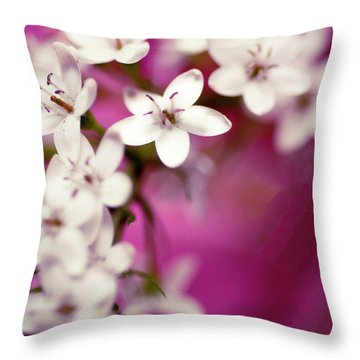 Throw Pillow featuring the photograph Happy by Christi Kraft
